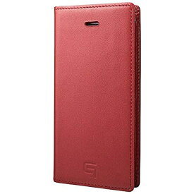 坂本ラヂヲ iPhone SE(第1世代)4インチ / 5s / 5用 レザーケースFull Leather Case レッド GLC606RD ポケット付