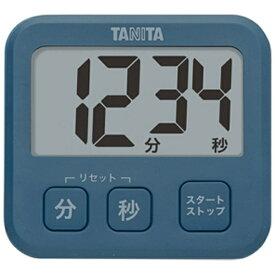 タニタ TANITA デジタルタイマー 「薄型タイマー」 TD-408-BL ブルー[TD408BL]