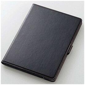 エレコム ELECOM iPad 9.7インチ用 ソフトレザーカバー 360度回転 ブラック TB-A179360BK[TBA179360BK]