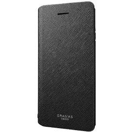 坂本ラヂヲ iPhone 6s/6用 手帳型レザーケース GRAMAS COLORS PU Leather Case ブラック GCLC4006BK