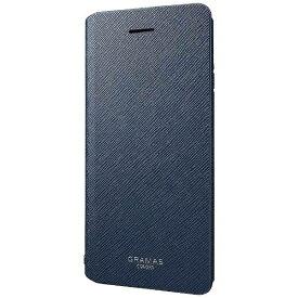 坂本ラヂヲ iPhone 6s/6用 手帳型レザーケース GRAMAS COLORS PU Leather Case ネイビー GCLC4006NV