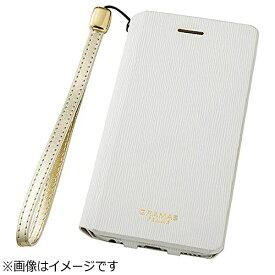 坂本ラヂヲ iPhone 6s/6用 手帳型レザーケース GRAMAS FEMME Colo Flap Leather Case ホワイト FLC2126WH