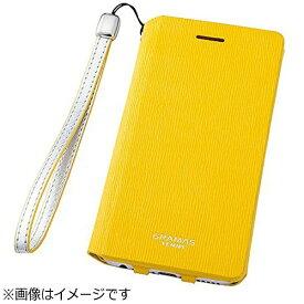 坂本ラヂヲ iPhone 6s/6用 手帳型レザーケース GRAMAS FEMME Colo Flap Leather Case イエロー FLC2126YL