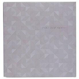 ナカバヤシ Nakabayashi Lサイズ フエルアルバム フリー台紙 白25枚 時空間 25L17