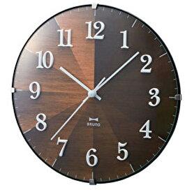 イデアインターナショナル IDEA INTERNATIONAL 掛け時計 2WAYグラデーションウッドクロック ブルーノ(BRUNO) ダークウッド BCW021-DW