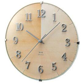イデアインターナショナル IDEA INTERNATIONAL 掛け時計 2WAYグラデーションウッドクロック ブルーノ(BRUNO) ナチュラルウッド BCW021-NW