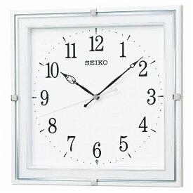セイコー SEIKO 掛け時計 【スタンダード】 白パール KX232W [電波自動受信機能有]