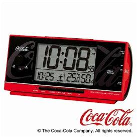 セイコー SEIKO 目覚まし時計 【コカ・コーラ】 赤 AC602R [デジタル /電波自動受信機能有]