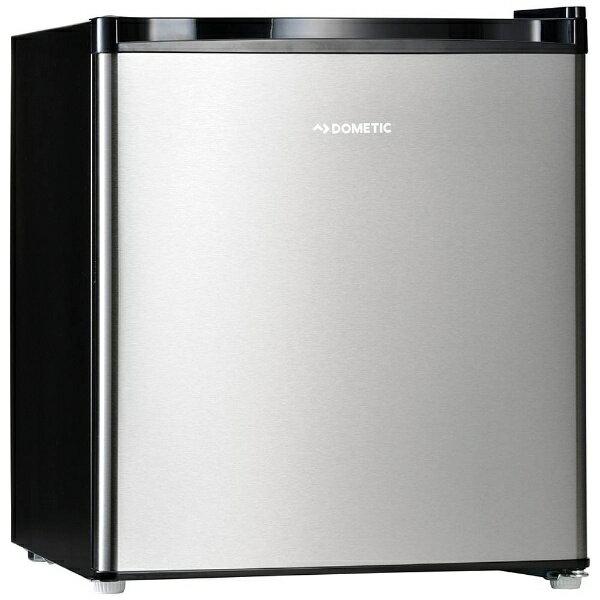 【標準設置費込み】 ドメティック 1ドア冷蔵庫 (42L) DS42 シルバーステンレス&ブラック