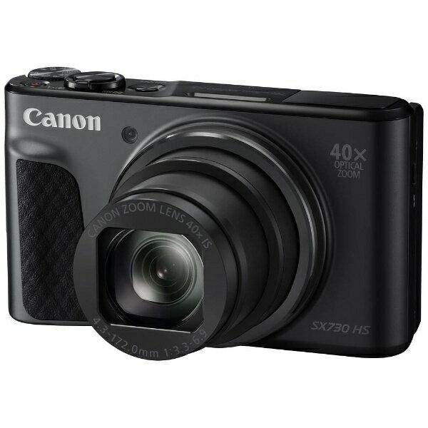 【送料無料】 キヤノン CANON コンパクトデジタルカメラ PowerShot(パワーショット) SX730 HS(ブラック)