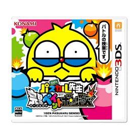 コナミデジタルエンタテイメント Konami Digital Entertainment 100%パスカル先生 完璧ペイントボンバーズ【3DSゲームソフト】