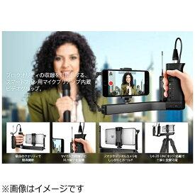 IKMULTIMEDIA アイ・ケー・マルチメディア スマートフォン対応 iKlip A/V ブラック IKM-OT-000058