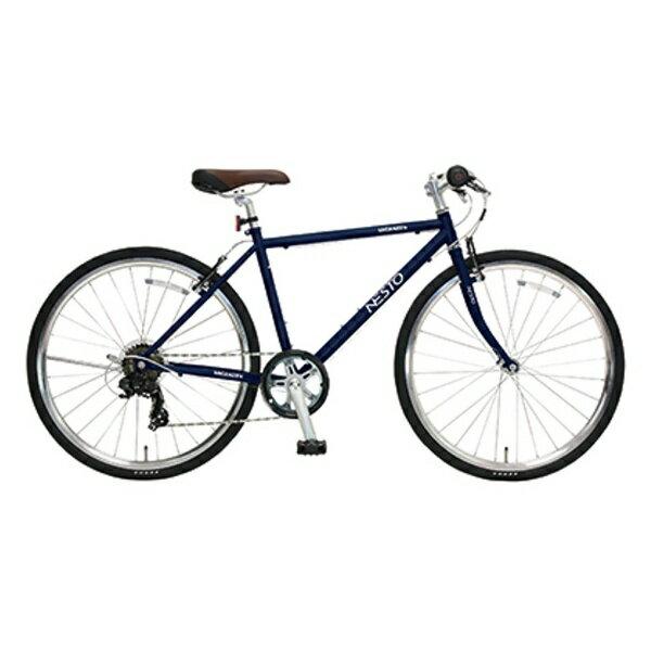 【送料無料】 NESTO 26型 クロスバイク VACANZE S(マットブルー/430サイズ《適応身長:150cm以上》) NE-17-006【組立商品につき返品不可】 【代金引換配送不可】【メーカー直送・代金引換不可・時間指定・返品不可】