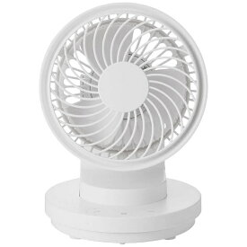 Three-up スリーアップ EFT-1709-WH 扇風機 マルチデスクファン ホワイト [DCモーター搭載][EFT1709][k-ksale]
