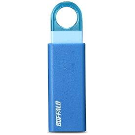 BUFFALO バッファロー RUF3-KS16GA-BL USBメモリー USB3.1/3.0/2.0対応 16GB ノックスライド式 オートリターン機能搭載 RUF3-KSAシリーズ ブルー [16GB /USB3.1 /USB TypeA /ノック式][RUF3KS16GABL]