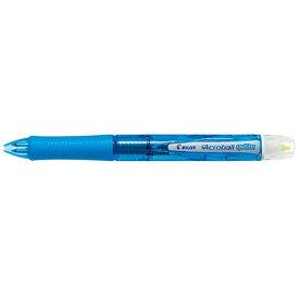 パイロット PILOT [多機能ペン]アクロボールスポットライター クリアソフトブルー 蛍光ペンイエロー色
