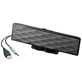 サンワサプライ SANWA SUPPLY MM-SPL11UBK サウンドバースピーカー [USB電源 /2.0ch][スピーカー パソコン]