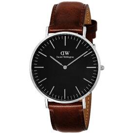 ダニエルウェリントン Daniel Wellington クラシックブラックセントモーズ(CLASSIC BLACK ST.MAWES) DW00100130 [並行輸入品]