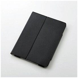 エレコム ELECOM iPad 9.7インチ用 ソフトレザーカバー 2アングル ブラック TB-A179PLFBK[TBA179PLFBK]