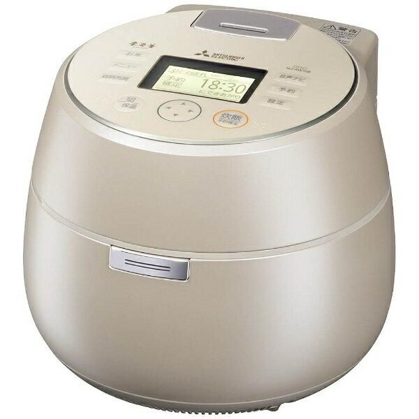 【送料無料】 三菱 Mitsubishi Electric NJ-AW108 炊飯器 本炭釜 KAMADO 白和三盆 [5.5合 /IH][NJAW108]