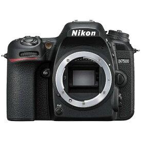 ニコン Nikon D7500 デジタル一眼レフカメラ ブラック [ボディ単体][D7500]