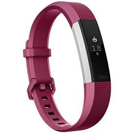Fitbit フィットビット ウェアラブル端末 心拍計+フィットネス リストバンド 「Fitbit Alta HR」 Sサイズ FB408SPMS-CJK Fucshia[FB408SPMSCJK]