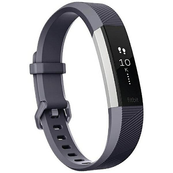 【送料無料】 FITBIT ウェアラブル端末 心拍計+フィットネス リストバンド 「Fitbit Alta HR」 Sサイズ FB408SGYS-CJK Blue Gray[FB408SGYSCJK]