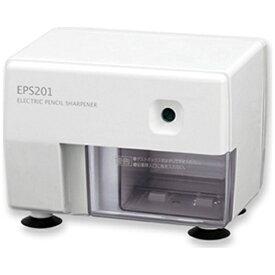 アスカ ASKA ムダ削り防止機構つき電動シャープナー ホワイト EPS201W