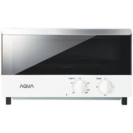 AQUA アクア オーブントースター ホワイト AQT-WA11(W)[AQTWA11_W] [一人暮らし おしゃれ 新生活 家電]