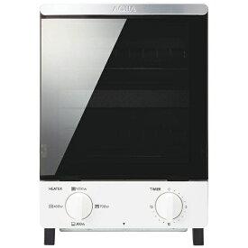 AQUA アクア オーブントースター ホワイト AQT-WT12(W)[AQTWT12_W] [縦型 一人暮らし おしゃれ 新生活 家電]