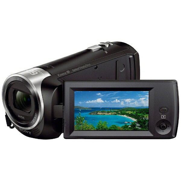 【送料無料】 ソニー メモリースティックマイクロ/マイクロSD対応 32GBメモリー内蔵 フルハイビジョンビデオカメラ(ブラック) HDR-CX470 B[HDRCX470B]