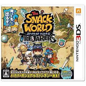 レベルファイブ LEVEL5 スナックワールド トレジャラーズ【3DSゲームソフト】