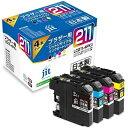 ジット JIT JIT-B2114P ブラザー brother:LC211-4PK(4色パック)対応 ジット リサイクルインク カートリッジ JIT-B2114P 4色セット[JITB2114P]