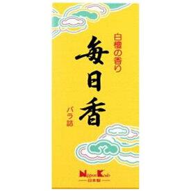 日本香堂 Nippon Kodo 毎日香 小型バラ詰 10801