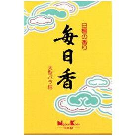 日本香堂 Nippon Kodo 毎日香 大型バラ詰 10803
