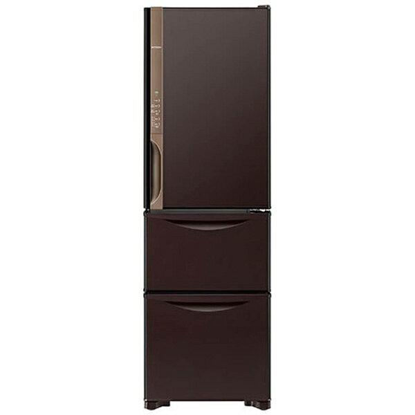 【標準設置費込み】 日立 3ドア冷蔵庫 (315L) R-K320HV-TD ダークブラウン 「Kシリーズ」[RK320HV_TD]