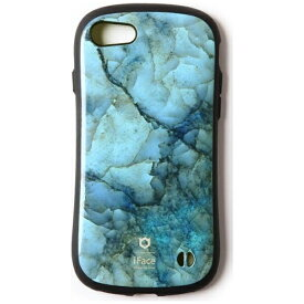 HAMEE ハミィ iPhone 7用 iFace First Class Marble ブルー