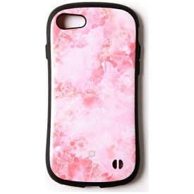 HAMEE ハミィ iPhone 7用 iFace First Class Marble ピンク