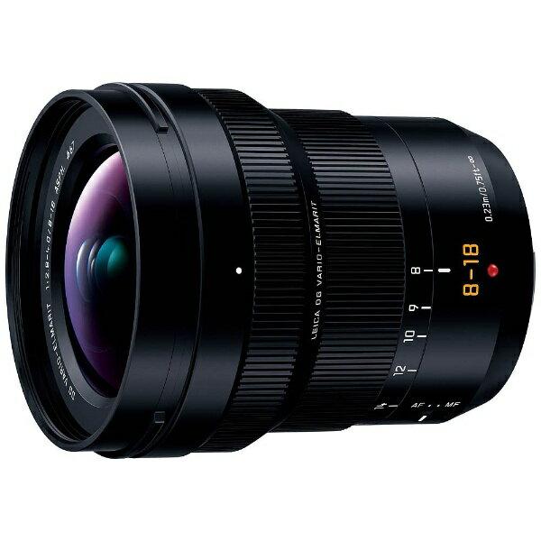 【送料無料】 パナソニック Panasonic カメラレンズ LEICA DG VARIO-ELMARIT 8-18mm/F2.8-4.0 ASPH.【マイクロフォーサーズマウント】[HE08018]