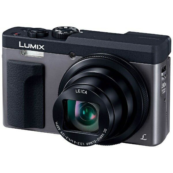 【送料無料】 パナソニック Panasonic コンパクトデジタルカメラ LUMIX(ルミックス) DC-TZ90(シルバー)[DCTZ90S]