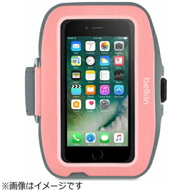 BELKIN iPhone 7 Plus用 Sport-Fit Plusアームバンド ピンク F8W794btC01