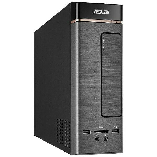 【送料無料】 ASUS モニター無デスクトップPC [Win10 Home・Celeron・HDD 1TB・メモリ4GB] ダークシルバー K20CE-J3060 (2017年春モデル)[K20CEJ3060]