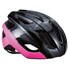 BBB 自転車用ヘルメット カイト(グロッシーブラック×ネオンピンク/Mサイズ:52〜58cm) BHE-29 154338