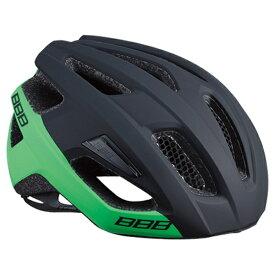 BBB ビービービー 自転車用ヘルメット カイト(マットブラック×グリーン/Lサイズ:58〜61.5cm) BHE-29 154341