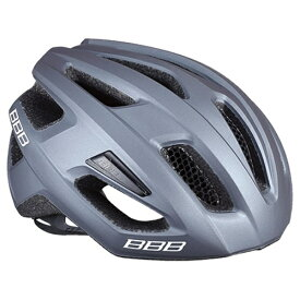 BBB ビービービー 自転車用ヘルメット カイト(マットグレー/Mサイズ:52〜58cm) BHE-29 154346