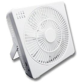 トップランド TOPLAND M7205-WT ボックス型扇風機 どこでもFAN(どこでもファン) ホワイト [DCモーター搭載][M7205]