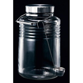 石塚硝子 ISHIZUKA GLASS メタルキャップコンテナー 5L <AKVS904>[AKVS904]