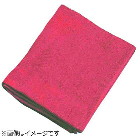 吉田織物 ミューファン 抗菌フェイスタオル(12枚入) 赤 <JFT0103>[JFT0103]