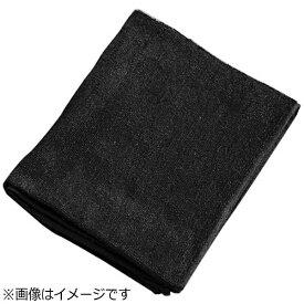 吉田織物 ミューファン 抗菌フェイスタオル(12枚入) 黒 <JFT0102>[JFT0102]