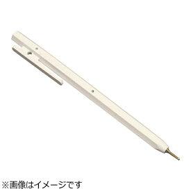 バーテック BURRTEC バーキンタ ボールペン エコ102 黒インク(金属検出機対応) 白 <ZPN1601>[ZPN1601]